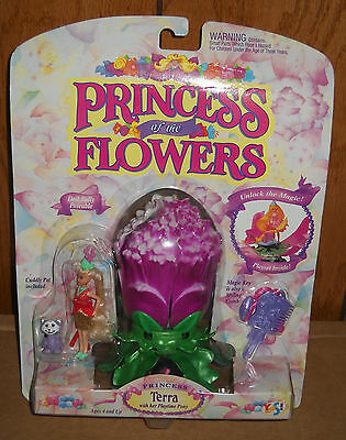 #4473 NRFC Vintage Yes! Toys Princess of the Flowers Terra Doll