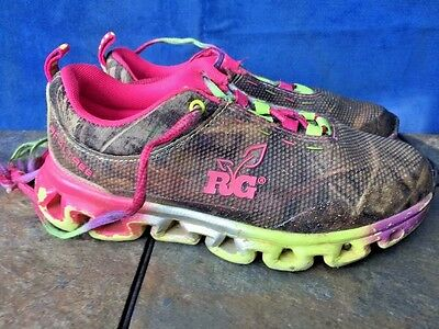 e44963c1a6ee7 SHOE SALE on REALTREE Extra Camo Hot Pink Butterfly Girls Sneakers Shoes Sz  1.5