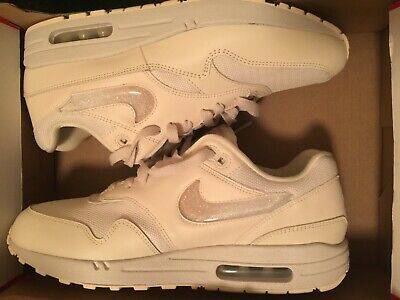 1a2170128bdc NIKE AIR MAX 1 Jelly Puff Pale Ivory Guava Ice White Girls Women s ...