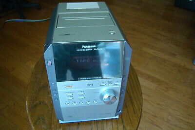 Panasonic SA-PM19 5 CD/Cassette/Radio Compact Stereo System Working Condition