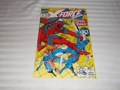 X Force #11 1St Appearance Of Domino Featuring Deadpool New Movie!!!