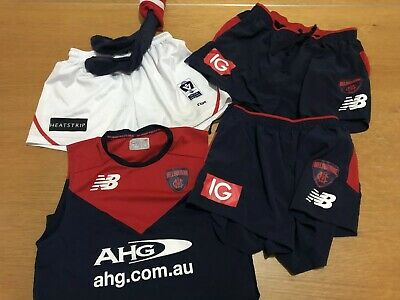 Melbourne Demons Player Issue Casey VFL Shorts Plus Training Jersey New Balance