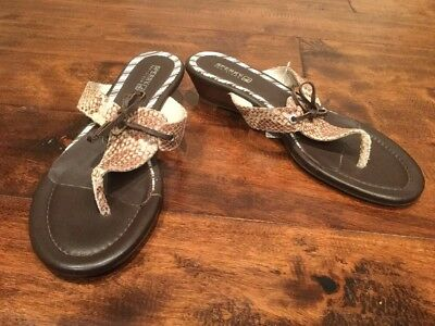 a12f19a170 SPERRY TOP SIDER Blue Plaid Thong Sandals -Women s Size 9 -  20.00 ...