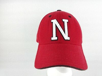 premium selection 90e7e b6492 University of Nebraska Cornhuskers One Size Baseball Cap Hat NCAA Red