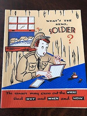Unused Stanley 1940/'s Novelty mechanical die cut patriotic You\u2019re in the Army Now greeting card young man in a tent in boot camp humorous