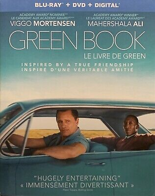 Green Book (Blu-ray / DVD / Digital) With Slipcover BRAND NEW and SEALED!!
