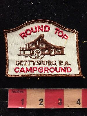 Vtg ROUND TOP GETTYSBURG PA CAMPGROUND Pennsylvania Patch 84N1