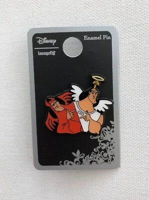 Disney Loungefly The Emperor's New Groove Kronk Angel Devil Enamel Trading Pin
