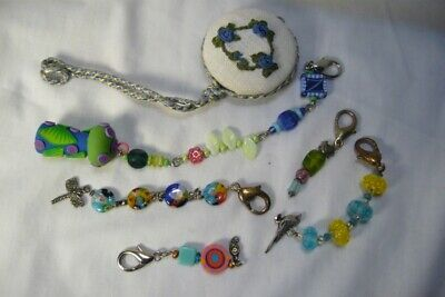 6 Assorted Embroidery or Other Scissor Fobs
