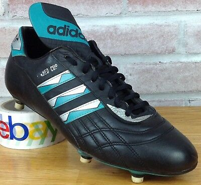 951f9352af86 Adidas Soccer Cleats Torneo Cup Leather Racers Trainers Shoes Mens Size 10  VTG