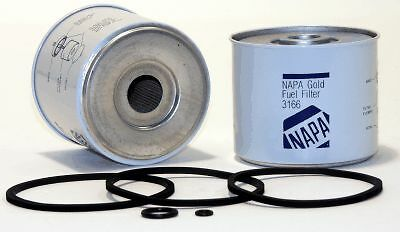 3166 Napa Gold Fuel Filter (33166 WIX) Fits Agco,Case,Bobcat,Ford,Gehl,Iveco