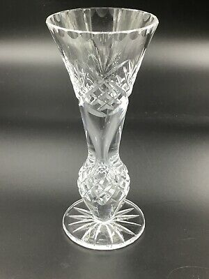 "Antique VTG AMERICAN BRILLIANT ABP Cut CRYSTAL Glass 6"" VASE"