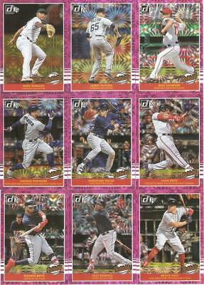 2019 Donruss Highlights Pink Firework Parallel Retail Inserts ***You Pick***