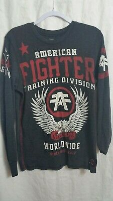f958d65c Men's American Fighter by Affliction Sport Graphic T-Shirt Large Black ...