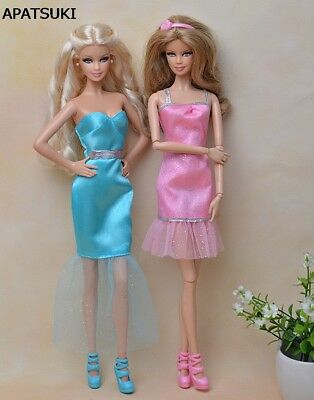"Beautiful Sexy Mini Dress Casual Wear Party Gown Clothes For 11.5"" Doll Dresses"