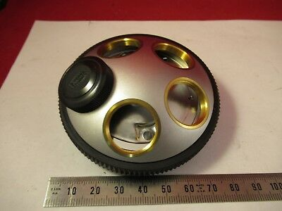 Olympus Japan Nosepiece Microscope Part Optics As Pictured &Ft-2-43