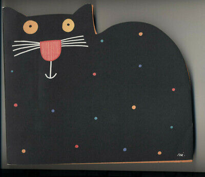 NEW Large CAT Kitty MULTICOLOR Sheets NOTEPAD Italy