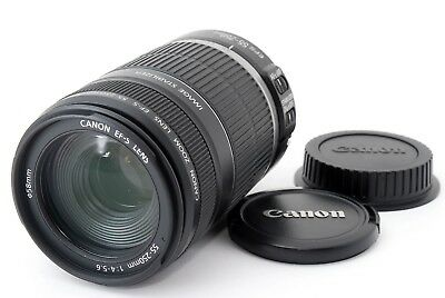 Canon EF-S 55-250mm f/4-5.6 IS Zoom Lens from Japan [Excellent+++]