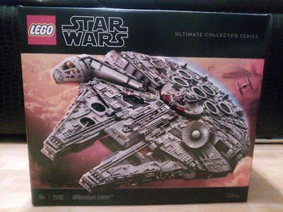 Lego Falcon Millenium Ucs 75192 New Sealed Never Opened Collector Serie Rare
