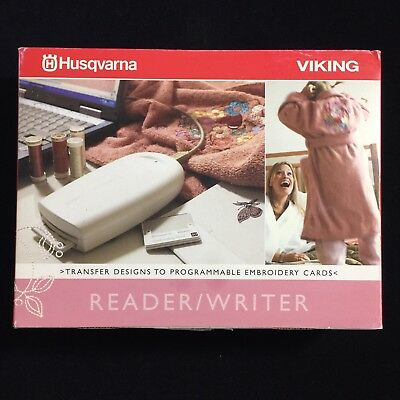 Husqvarna Viking USB Card Reader/Writer with 512kb Card For Embroidery Machines