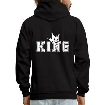 1e0cf213a5 Matching Couple King Queen Valentine's Day Men's Hoodie by Spreadshirt™