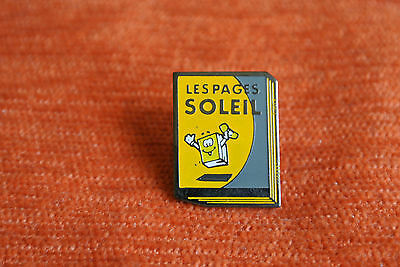 11321 Pin's Pins Poste Telecom Telephone Les Pages Soleil