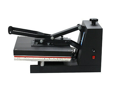 "US 15""x15"" 5IN1 Combo T-Shirt Heat Press Transfer Machine Sublimation Swing Away"