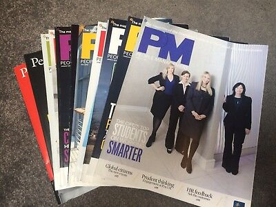 CIPD People Managment Magazines Jan 2012-Dec 2012 HR Great Offer