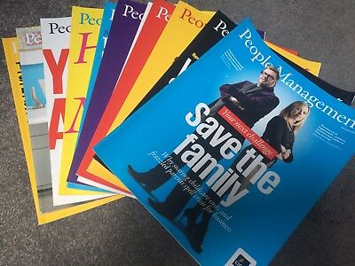 CIPD People Managment Magazines Jan 2013-Dec 2013 HR Great Offer