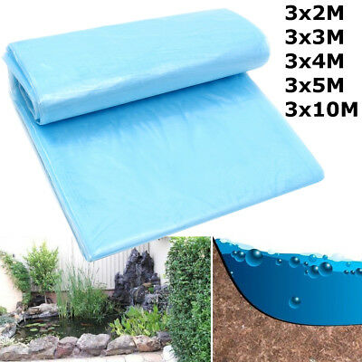 Azul Durable Fish Pond Liner Gardens Pools HDPE Membrane Reinforced Landscaping