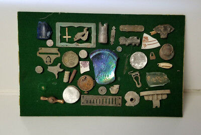Junk Drawer antiques coin bullet watch glass