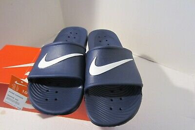 81dfa53b5 NIKE KAWA SHOWER Men s Slide white blue moon Slipper 832528 100 Free ...