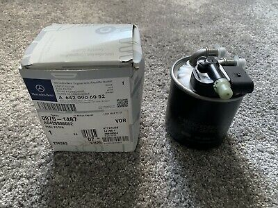 Genuine Mercedes-Benz OM642 Fuel Filter With Inserted Sensor A6420906052 NEW