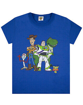 Disney Toy Story Woody, Buzz, Characters Photo Boy's/Kid's T-Shirt