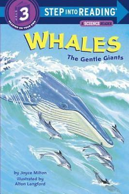 WHALES The Gentle Giants (Brand New Paperback) Joyce Milton