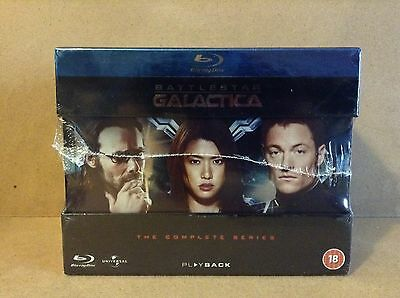 Battlestar Galactica - The Complete Series (Blu-ray) *BRAND NEW*