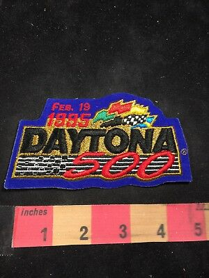 Vtg Florida Auto Races 1995 DAYTONA 500 Car Race Patch 80NT