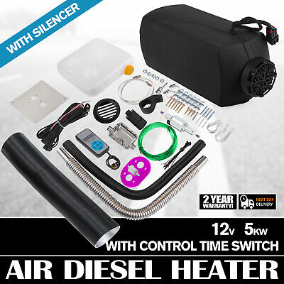 ro Air Heater 5KW 12V Heater Thermostat Caravan Motorhome +Digital Switch Ca