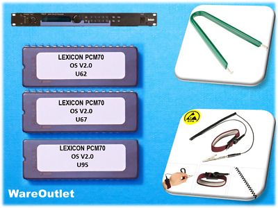 Lexicon Pcm70 Os Version 2.0 Eprom Upgrade - Effect Reverb