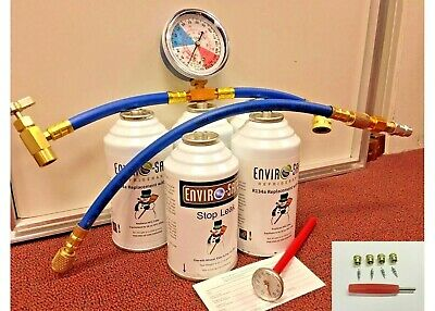 Enviro-Safe Modern Refrigerant, R12 or R134a Alternate, AC Replacement Kit R1