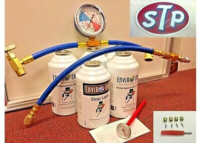 Enviro-Safe Modern Refrigerant, R12 or R134a Alternate, AC Replacement Kit R2