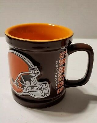 0fda27f6891 NFL CLEVELAND BROWNS Ceramic MUG FOOTBALL COLLECTIBLE CUP #1284