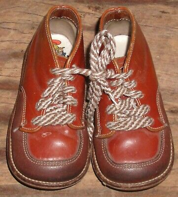 a9f8a23785ceb VINTAGE BUSTER BROWN Leather Toddler Shoes - Great Condition ...