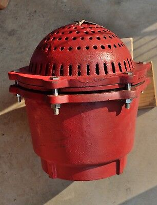 """8"""" Ductile Iron Foot Valve Assembly Painted New PV800"""