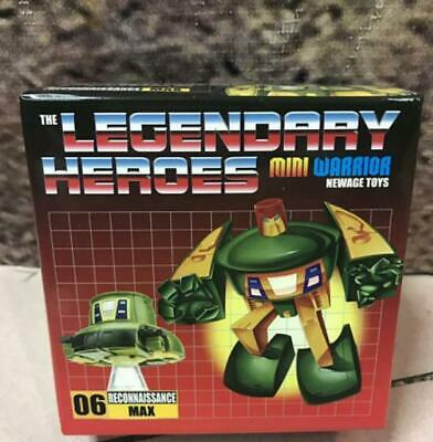 New NEWAGE Transformers Mini Warrior The Legendary Heroes H6 Max Cosmos In Stock