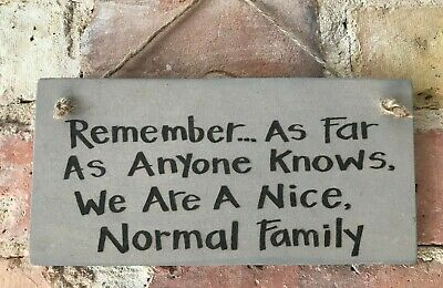 ** Handmade Home Sign Plaque In A Grey Wash Finish **