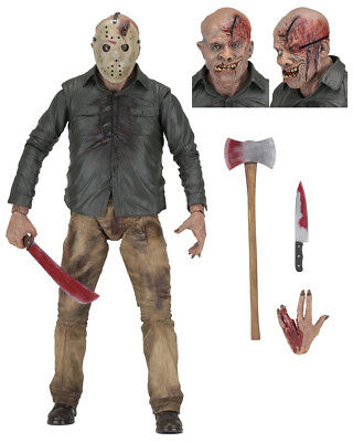 JASON VOORHEES 1/4 Scale Figur 45cm NECA OVP Friday The 13th Part 4 Freitag 13
