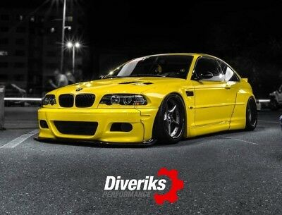 Bmw E46 M3 Coupe Pandem Style Wide Body Kit