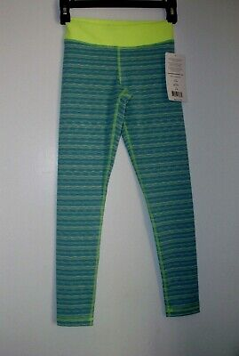 90 Degree by Reflex  Girl Size M (10) Jade Combo Gym Leggings Pant New $52.00