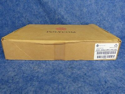 New Polycom SHELF FOR MOUNTING HDX 7000 & 8000 SERIES CODES 2215-28283-001